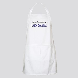 Proud Descendant Of Union Soldiers Apron